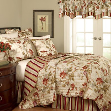 WAVERLY 11396KINGPPY Charleston Chirp 90-Inch by 104-Inch 4-Piece King Quilt