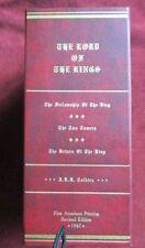 J.R.R. Tolkien - LORD OF THE RINGS (Revised) - 1st printings