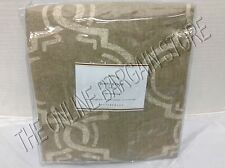 1 Pottery Barn Avery Graphic Print Linen Drapes Panels Curtains Neutral 50x96