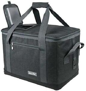 Soft Cooler Bag 40-Can Large Reusable Grocery Bags Soft Sided Collapsible