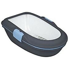 TRIXIE BERTO CAT KITTEN LITTER TRAY WITH RIM - LITTER  SEPARATION SYSTEM 40154