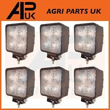 6 x 40W CREE LED Work Light Lamp Flood Beam 12V 24V Tractor Digger 4WD JCB Lorry