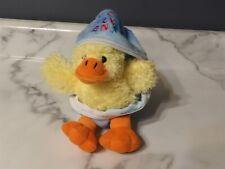"VHTF 7"" Dan Dee Plush Yellow DUCK in JELLY BEANS Costume Egg (*88)"
