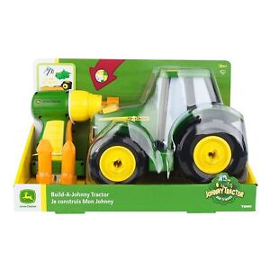 John Deere Build A Johnny Tractor Your Own Model Set Toy Farming Kit 16 Pieces