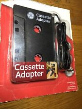 Original Ge Cassette Adapter for Ipod Phones Mp3 Cd Player Audio System StereoB1