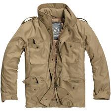 Brandit Giacca Giubbotto giaccone Parka Uomo Vintage M 65 Classic Jacket XL Camel