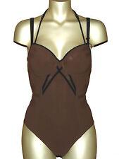 MARLIES DEKKERS maillot de bain-Combishort malevitsj 75 C 75 C Brown-Black NEUF 75 €
