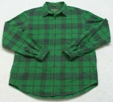 Eddie Bauer Dress Shirt Long Sleeve Button Front XLT Extra Large Tall Relaxed