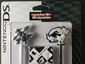 POKEMON Legendary Nintendo DS/DS.Lite/DS.XL Stylus Kit NiSP *Zekrom & Reshiram