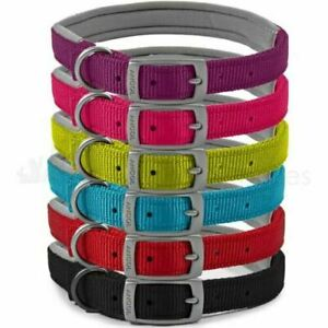 Ancol Quality Padded Nylon Dog Collar/Padded Nylon Lead.Comfort - Dogs - Owners