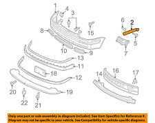 VW VOLKSWAGEN OEM 99-05 Jetta Front Bumper-Bumper Cover Guide Left 1J5807183B