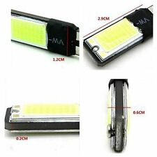 2pcs White DC 12V Car Wedge Side Light T10 168 194 6W  COB W5W Canbus  LED