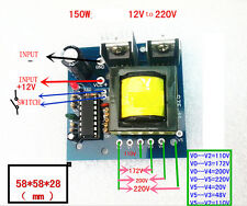 DC 12V TO AC 110V 220V Simple Inverter CONVERTER circuit board