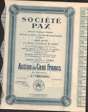 Société PAX, essences aromatiques naturelles (P)