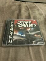 World's Scariest Police Chases (PlayStation 1 PS1 2001) FACTORY SEALED! - EX!