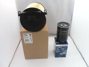 Audi A3 1.6 Petrol Service Kit Oil Air Filter 2003 to 2013 BOSCH 102BHP