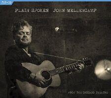 JOHN MELLENCAMP PLAIN SPOKEN From The Chicago Theatre CD & BLU-RAY ALL REG NEW