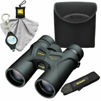 Nikon Prostaff 3S 10x42 Waterproof Binoculars w/ Cleaning Cloth & Keychain Light