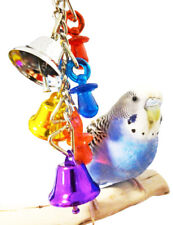1107 JINGLE BELLS BIRD TOY parrot cage toys cages cockatiel lovebird parrotlet