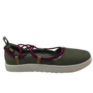 New Teva Voya Infinity MJ Casual Shoes - Women's 6 Sea Foam/Burnt Olive 1106869