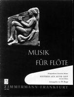 Heiteres aus alter Zeit- für zwei Flöten ~ Herausgeber W. Barge