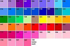 50x Farbfolien Farbfilter 11,5 x 11,5 cm für PAR 30 Scheinwerfer, freie Farbwahl