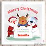 Christmas Card Daughter Granddaughter Son Grandson Niece Nephew Bro Personalised
