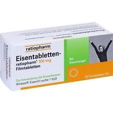 EISENTABLETTEN ratiopharm 100 mg Filmtabletten 50 St