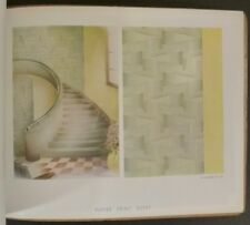 1938-39 French 'Creations Essex' Art Deco / Modern Wallpaper Trade Catalog