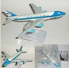 United States Air Force Boeing 747 Airplane DieCast Plane Model