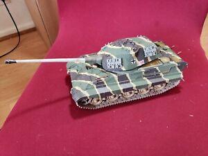 "1:35 Scale Built German ""King Tiger"" Heavy Tank"