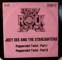 "JOEY DEE⚠️Unplayed⚠️ 1973-7""-Peppermint Twist I&II-Bellaphon BO 105-Germany"