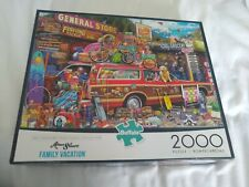 Buffalo Games American Jigsaw Puzzle - Family Vacation 2,000 Pieces (1 piece...