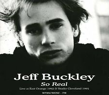 Music CD Jeff Buckley So Real Live East Orange Studio Cleveland April 19 1992
