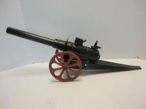 """Vintage Big Bang Cast Iron Cannon Large Size 24"""" Long by Conestoga Co."""