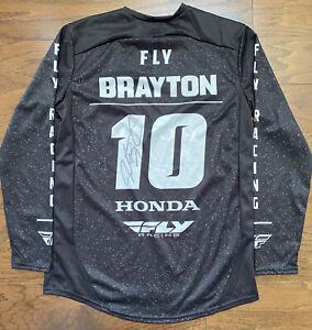 Justin Brayton Fly Racing Honda AMA Supercross / Motocross Jersey - Signed!