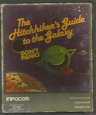 HITCHHIKERS GUIDE TO THE GALAXY - Infocom - ATARI 48K DISK - *selling as faulty*