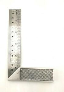 """6"""" 150mm  TRY SQUARE STEEL RIGHT ANGLE MEASURE CARPENTERS ENGINEERING woodwork"""