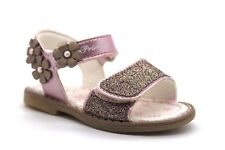 Primigi Carmelita Infant Girls UK 4 EU 20 Rosa Glitter & Floral Touch Sandals