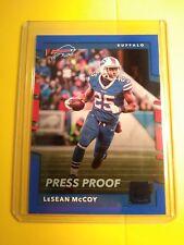 2017 Donruss LeSean McCoy Buffalo Bills Blue Press Proof card #158 GEM-MINT type