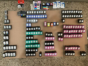 bulk Lot of (175+)  Empty virgin Canon & HP INK cartridges 245 246 61 61xl 60xl