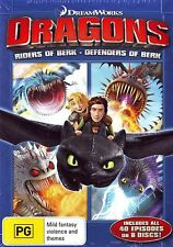 Dragons Riders of Berk / Defenders of Berk Box Set DVD Region 4 NEW