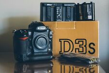 Nikon D3s DSLR + 2 Batteries -- Professionally Used, Well-Loved (Body Only)