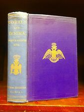 MORALS DOGMA FREEMASONRY 1871 1st Ed Masonic OCCULT Freemason ANTIQUE BOOK