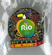 Rio 2016 summer Olympic Games pin - NBC media - USA  - toucan badge