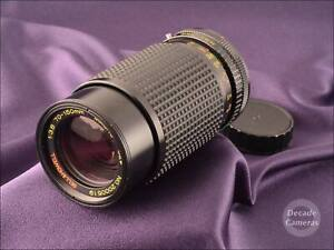 Canon FD Mount Bell & Howell Auto 70-150mm Fast Constant f3.8 Zoom - 629