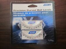 Camco Precision Curved Ball Level for RV'S  MFG#25553   Pack of 2   NEW