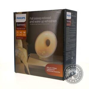 NEW Philips SmartSleep HF3650/60 Sleep & Wake Up Light Therapy Lamp in White