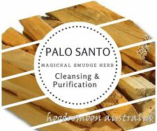 Resin & Wood Incense: PALO SANTO Smudge Sticks 1 x 110mm