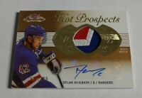 DYLAN MCILRATH - 2013/14 SHOWCASE - HOT PROSPECTS - RC AUTOGRAPH PATCH - #/375